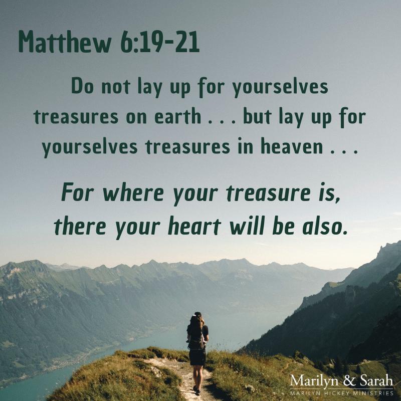 Matt. 6:19-21