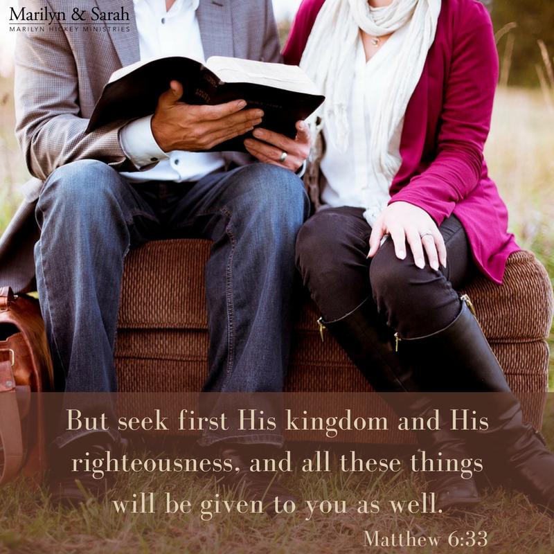 Matthew 6:33 Seek His Kingdom