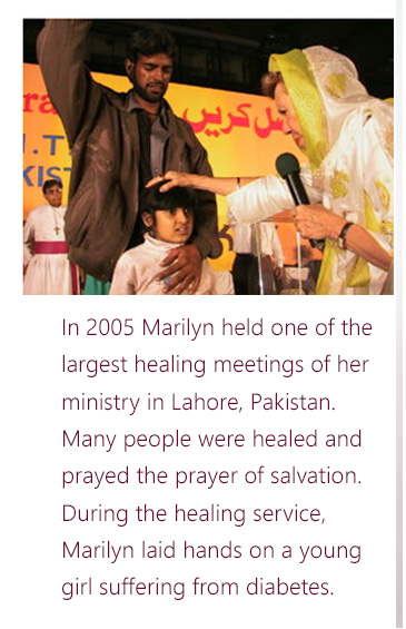 Jesus Can Heal and Forgive Sins - Marilyn Hickey Ministries