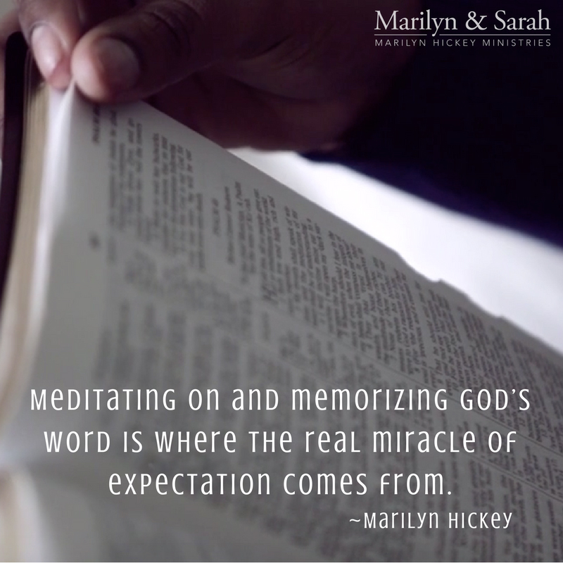 Meditate on God's Word