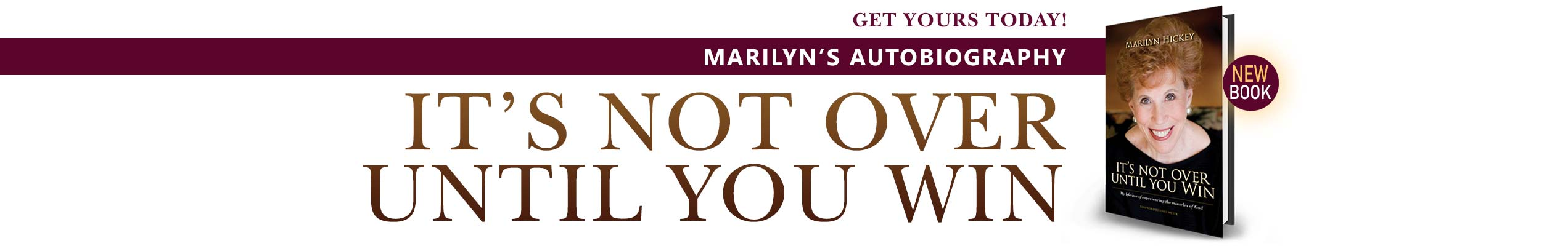 Marilyn's Autobiography Is Available!